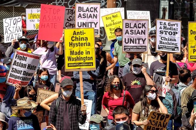 ชุมนุมทั่วสหรัฐฯเรียกร้องยุติความรุนแรงต่อต้านคนเอเชีย