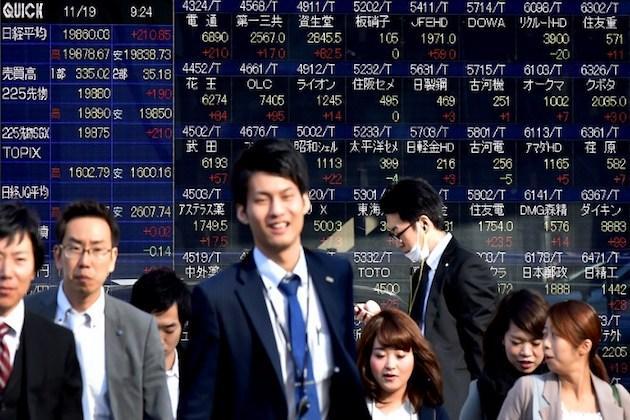 ตลาดหุ้นเอเชียปรับบวกตามดาวโจนส์ รับสัญญาณ ศก.สหรัฐขยายตัว