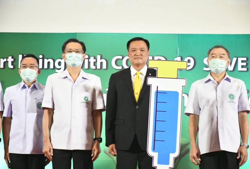 """""""อนุทิน"""" เผยระบบการแพทย์ไทย รักษาผู้ป่วยโควิด-19 หายแล้วกว่า 25,000 ราย"""