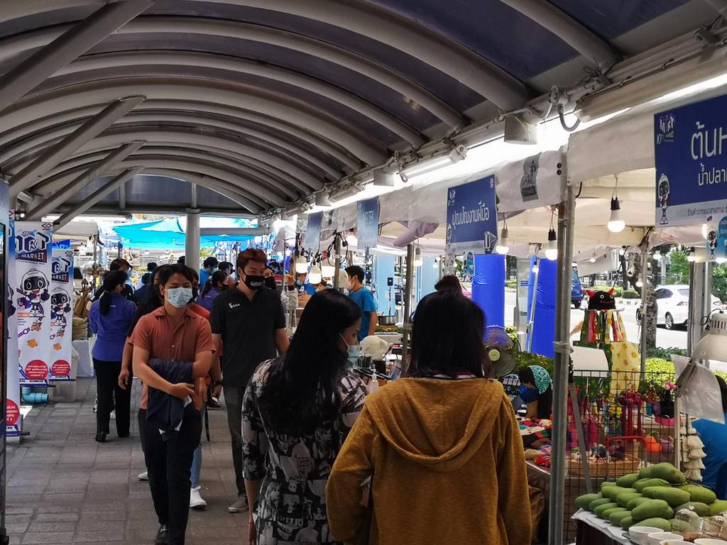 """รฟม. เปิด """"MRT MARKET"""" ตลาดนัดผลิตภัณฑ์ชุมชน จากแนวสายทางรถไฟฟ้า"""
