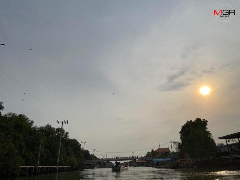 กทม. วันนี้อากาศดีมาก ไม่พบค่าฝุ่นเกินมาตรฐาน แต่มีฝนฟ้าคะนอง บางพื้นที่