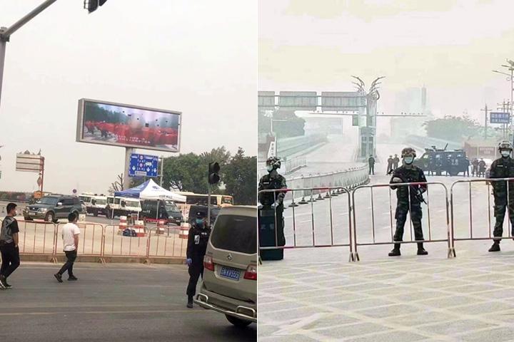 """ทหารจีนคุมเข้มหลังปิดชายแดน """"รุ่ยลี่-ยูนนาน"""" พบโควิด-19 แพร่ระบาด ต้องล็อกดาวน์เมือง"""