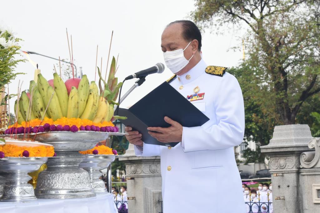 มท.จัดงานวันที่ระลึกคล้ายวันสถาปนากระทรวงมหาดไทย 129 ปี 1 เม.ย.64