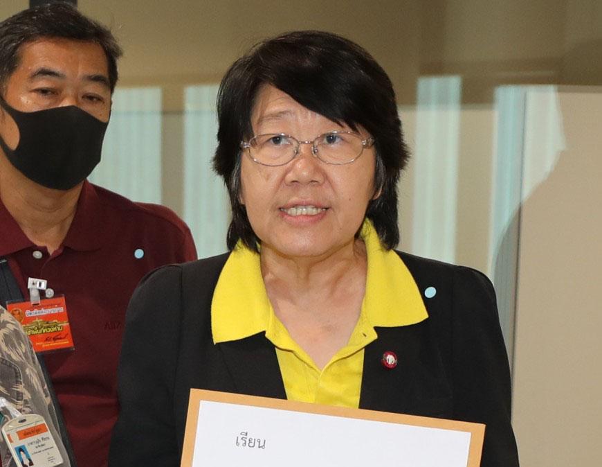 """""""รสนา""""จี้รัฐใช้วัคซีนโควิดปกป้องชีวิตคนไทย อย่าปกป้องภาพลักษณืการเมือง"""