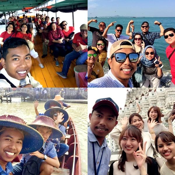 เมื่อครั้งทำงานมัคคุเทศก์ พานักท่องเที่ยวตะลุยทั่วประเทศไทย