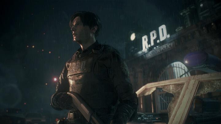 ภาพจากเกม Resident Evil 2 Remake