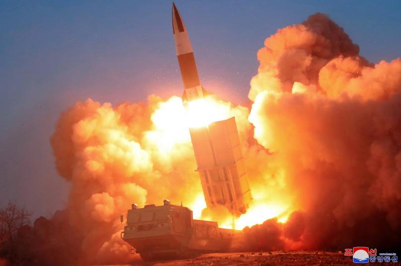 สหรัฐฯ-เกาหลีใต้-ญี่ปุ่นประกาศร่วมกดดัน 'เกาหลีเหนือ' จนกว่าจะปลดนุก