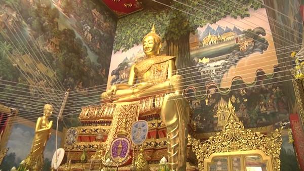 สมเด็จพระวันรัต   เปิดงานเทศกาลนมัสการปิดทององค์หลวงพ่อวัดไร่ขิง ประจำปี 2564