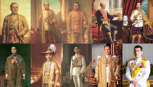 """๘ ราชวงศ์ปกครองราชอาณาจักรไทย! ยาวนานที่สุดคือ """"จักรี"""" สืบมาจากราชวงศ์พระร่วง!!"""