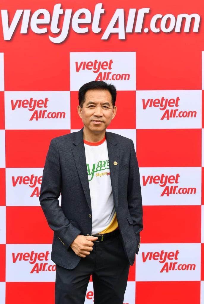 นายวรเนติหล้าพระบางประธานเจ้าหน้าที่บริหารสายการบินไทยเวียตเจ็ท