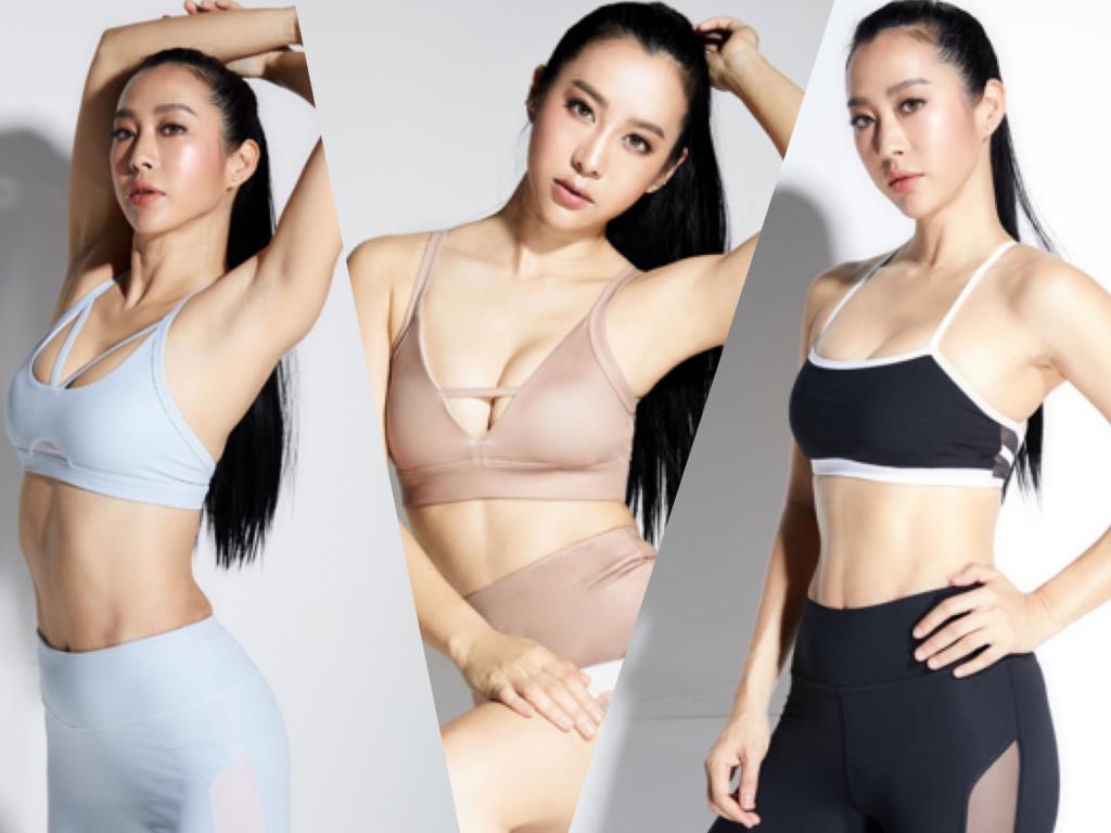 """""""จ๋า ณัฐฐาวีรนุช"""" ผุดไอเดียเจ๋ง ออกแบบชุดออกกำลังกาย สร้างแรงบันดาลใจให้สาวๆ"""