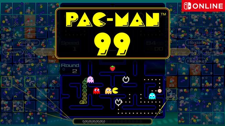 """แบทเทิลรอยัล """"PAC-MAN 99"""" เปิดโหลดบนสวิตช์"""