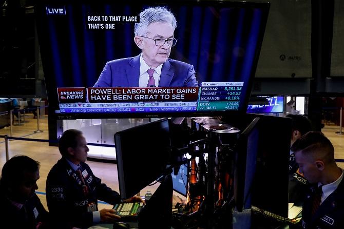 น้ำมันขึ้น-ทองลง หุ้นสหรัฐฯปิดแคบหลังเฟดเผยแพร่รายงานการประชุม