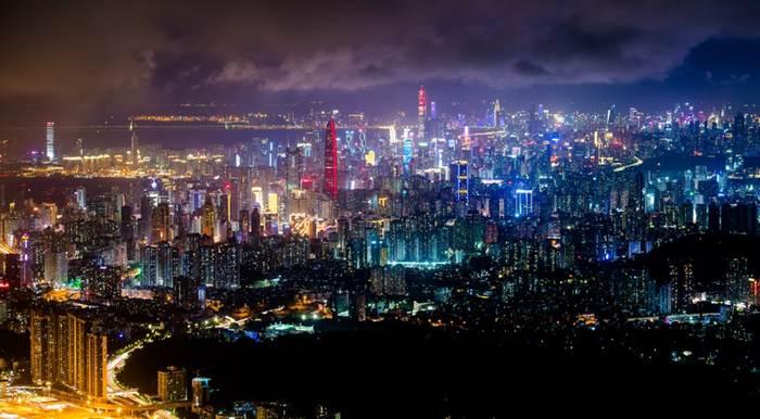 """เซินเจิ้น ฉายา """"ซิลิคอน วัลเล่ย์แห่งเมืองจีน""""  (แฟ้มภาพซินหัว)"""