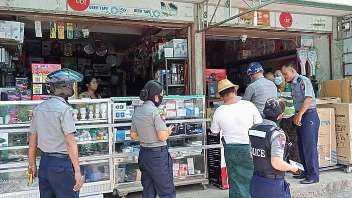 กองทัพพม่าเดินหน้าปิดกั้นข่าวสาร ไล่ยึดกล่อง-ปีนเก็บจาน PSI ตามบ้าน