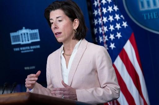 """""""Gina Raimondo"""" รัฐมนตรีกระทรวงพาณิชย์สหรัฐฯ"""