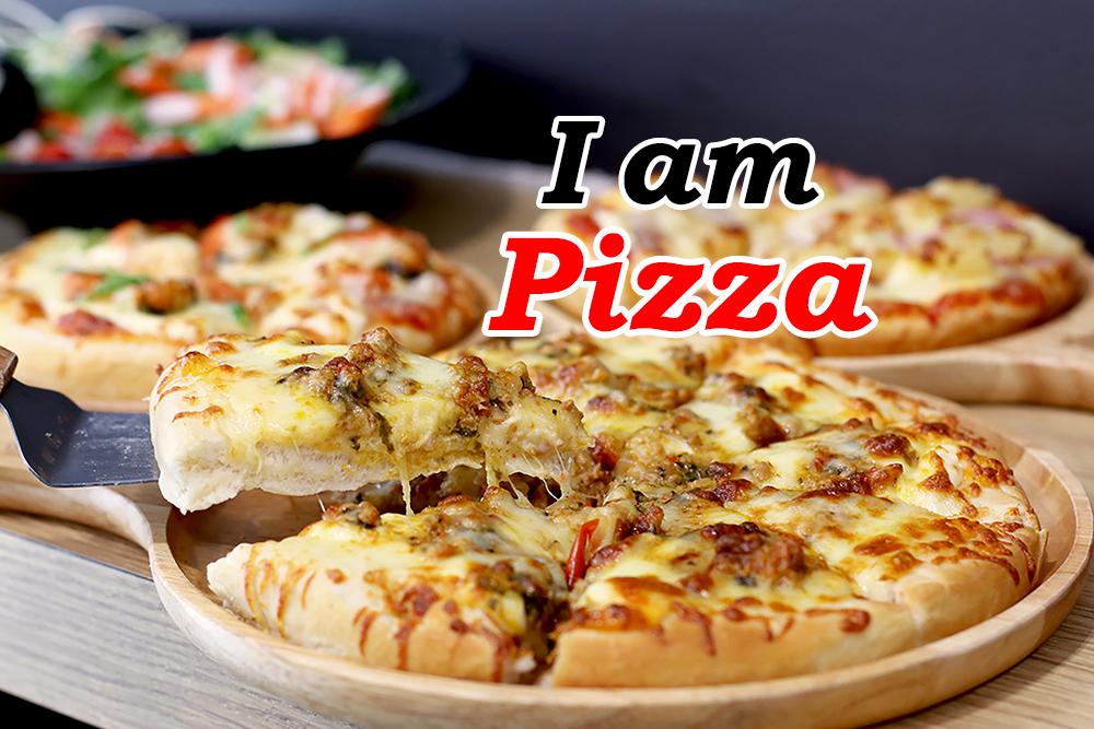 """""""I am Pizza"""" เด็ดดีพิซซ่าหน้าแน่น แป้งหนานุ่ม"""