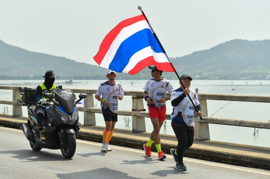 วิ่งผลัดธงชาติไทย ไปโอลิมปิก ผ่านเส้นทางประวัติศาสตร์ถึงสงขลา