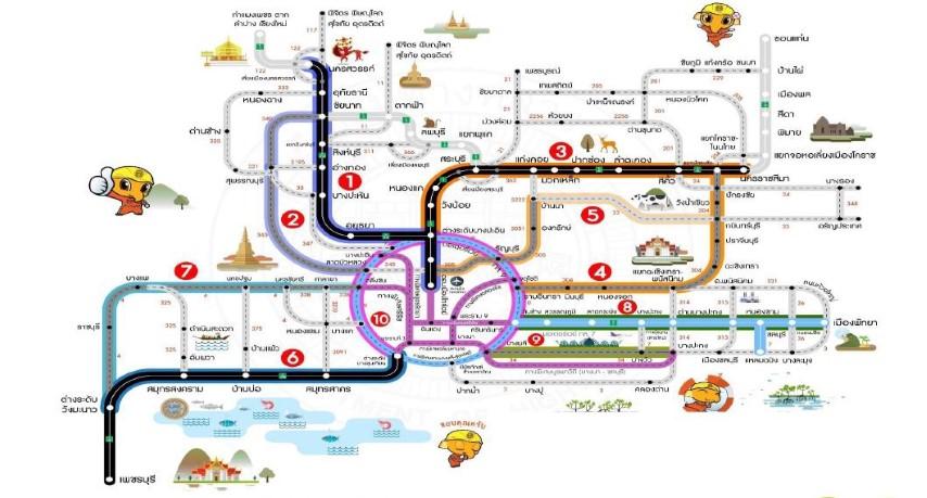 ทล. เผย 10 เส้นทางรถหนาแน่นช่วงเทศกาลสงกรานต์