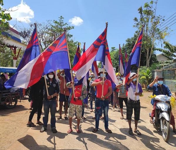 ชาวพญาตองซู จัดกิจกรรมเดินขบวนต้านรัฐประหารต่อเนื่อง พร้อมส่งจดหมายผ่าน FB งดร่วมกิจกรรมเทศกาลวันสงกราน