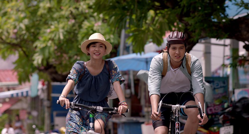 ปั่นจักรยานเที่ยวเกาะสีชัง จากหนังเรื่อง Timeline จดหมาย ความทรงจำ
