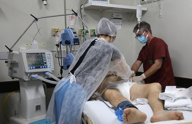 ชักยังไง!บราซิลพบผู้ป่วยหนักโควิด-19คนหนุ่มสาวมีจำนวนแซงหน้าผู้สูงวัย