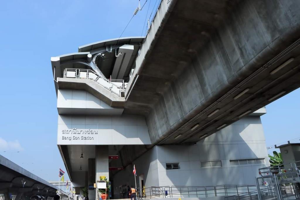 """รฟท.เทงบ 40 ล้านซ่อมบำรุงสถานีสีแดง """"สายตลิ่งชัน"""" เร่งเสร็จใน 4 เดือนก่อนเปิดหวูดพ.ย. 64"""
