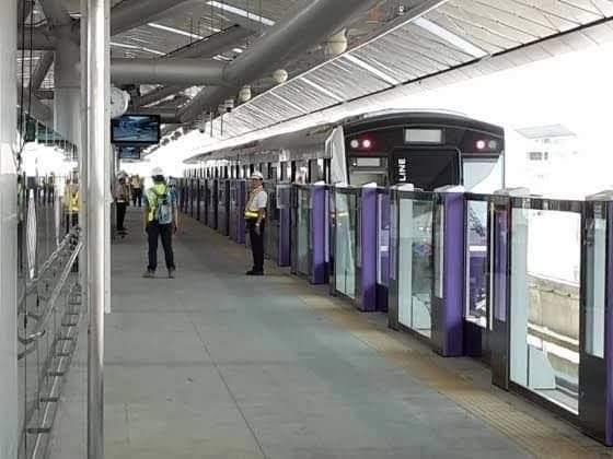 รปภ.รถไฟฟ้าสีม่วงติดโควิด BEM เร่งทำความสะอาดสถานีสาธารณสุข และกักตัวกลุ่มเสี่ยง
