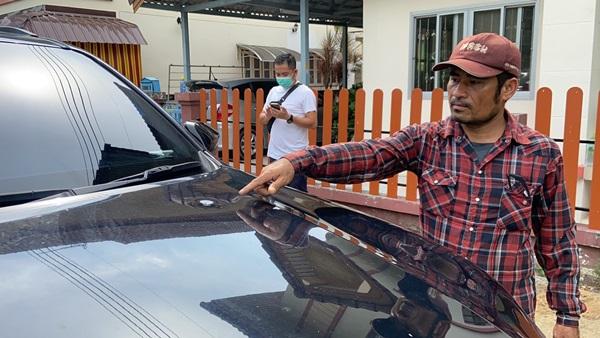 คาดฝีมือวัยรุ่นชลบุรีอดเล่นน้ำสงกรานต์หันเล่นยิงปืนขึ้นฟ้าทำกระสุนตกใส่รถยนต์ชาวบ้าน