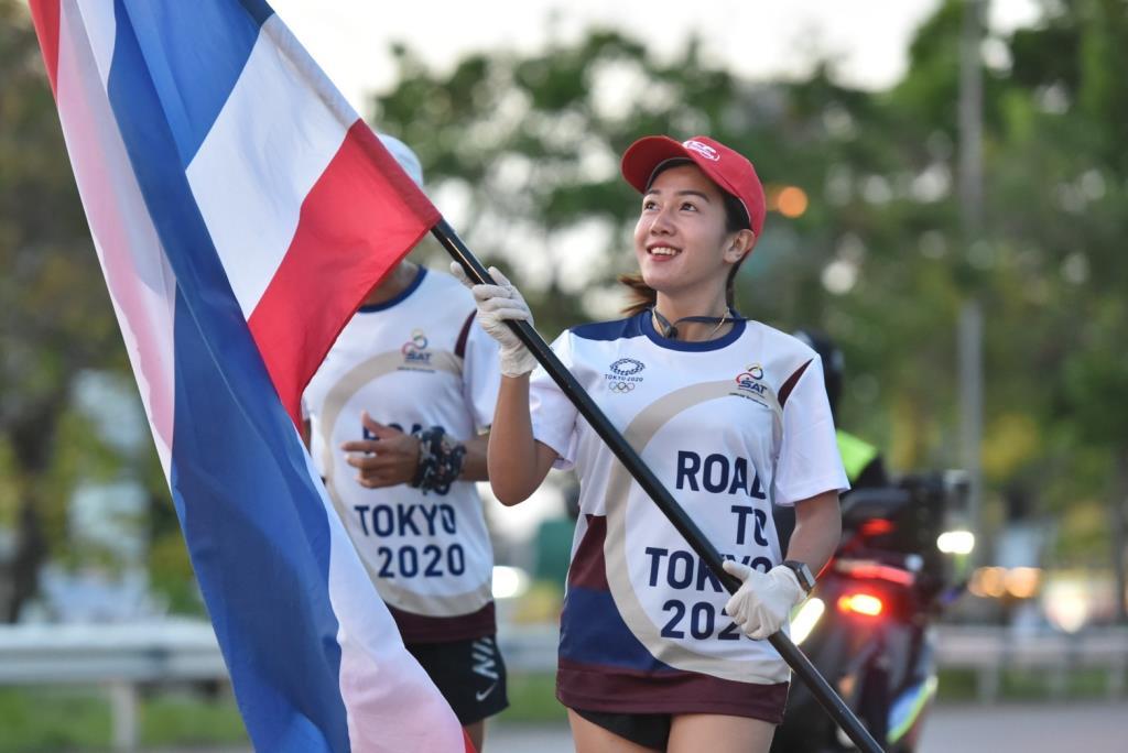วิ่งผลัดธงไตรรงค์ ผ่าน 21 วัน รวมระยะทาง 1,580 กม.