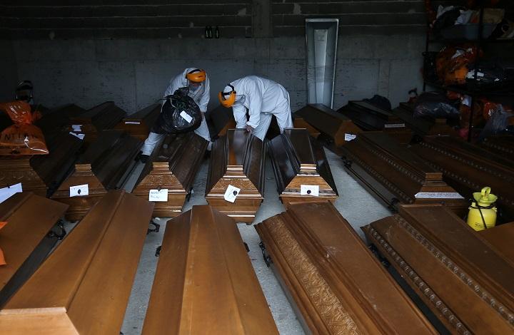 ยังตายเป็นเบือ!ยอดเสียชีวิตจากโควิดทั่วโลกทะลุ3ล้านคน อินเดียติดเชื้อรายวัน2.3แสน