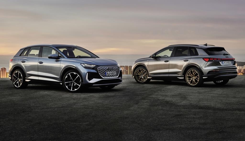 Audi เปิดตัว Q4 e-tron ควบ Q4 e-tron Sportback เริ่มขายยุโรปกลางปีนี้