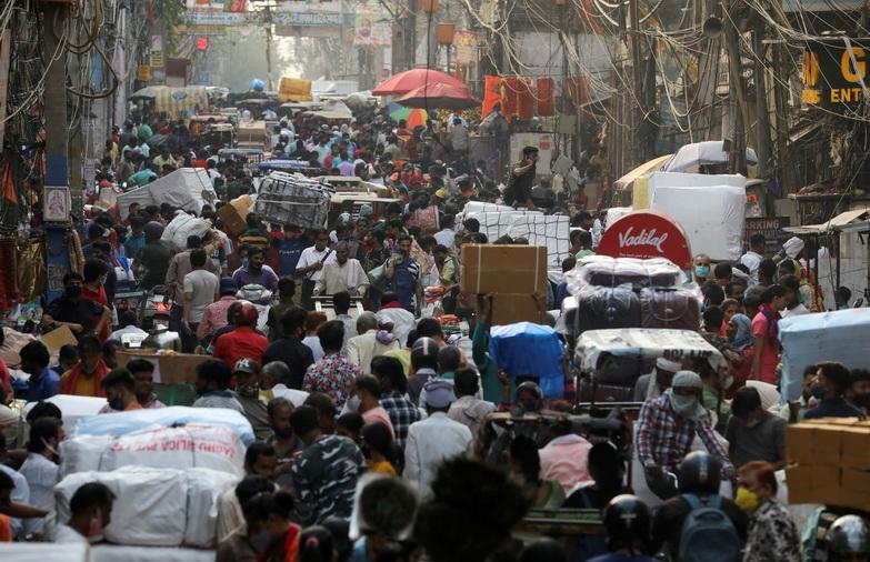 พุ่งไม่หยุด! 'อินเดีย' ติดเชื้อวันเดียว 2.7 แสน-ยอดป่วยสะสมทะลุ 15 ล้านคน