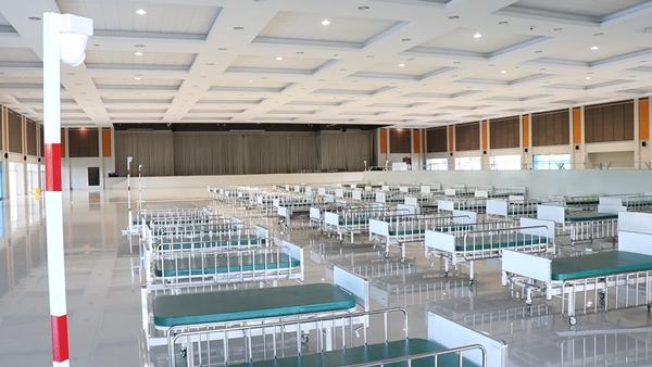 กรุงเก่าเตรียมความพร้อม เปิดโรงพยาบาลสนาม รับมือแพร่ระบาดโควิด 19 ระลอก 3