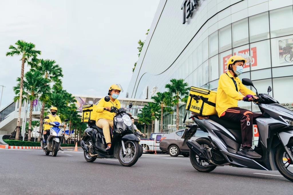 เปิดสถิติ Fly-Food แพลตฟอร์มบริการส่งอาหารให้คนจีนในไทย