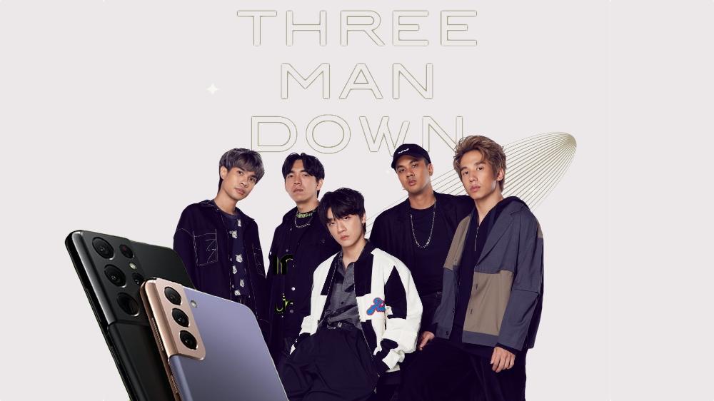 Samsung - AIS - GMM ดึง Three Man Down สร้างปรากฏการณ์มิวสิกมาร์เกตติ้ง