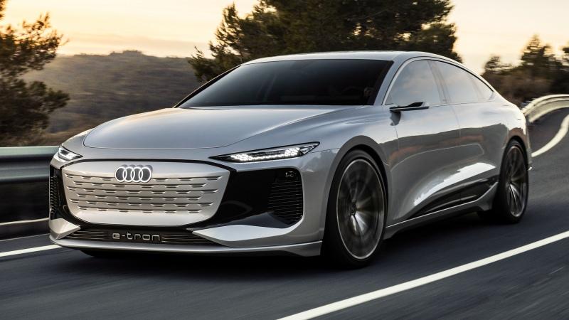 Audi A6 e-tron ใหม่ ต้นแบบรถไฟฟ้าดีไซน์งามหยดเผยโฉมจริงแล้ว