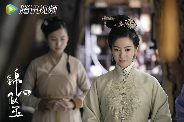 หลี่เซิง รับบท อนุฉิน