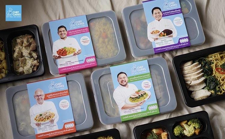 Chef Cares Ready Meal เปิดตัว 4 เมนูสุขภาพ จาก 4 เชฟดังระดับโลก ให้คนไทยเข้าถึงง่ายเพียง 69 บาท พร้อมยกกำไร 100% คืนสู่สังคม