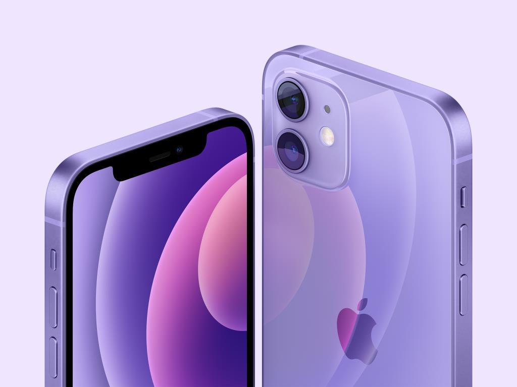 เผยโฉม iPhone 12 สีม่วง