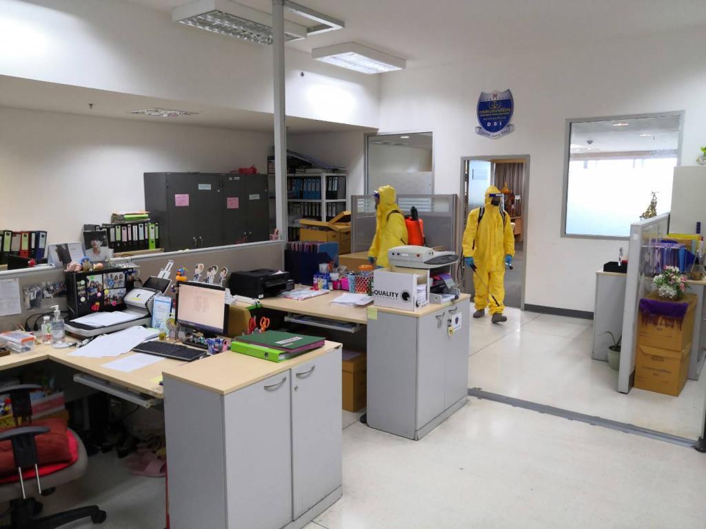 จนท.ดีเอสไอ ติดเชื้อโควิด 1 ราย สั่งทำความสะอาดสำนักงาน กักตัวบุคคลใกล้ชิด