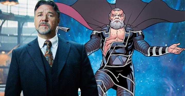 """ฮือฮาแน่! เปิดเผยแล้ว """"รัสเซล โครว์"""" จะแสดงเป็นใครใน Thor 4"""