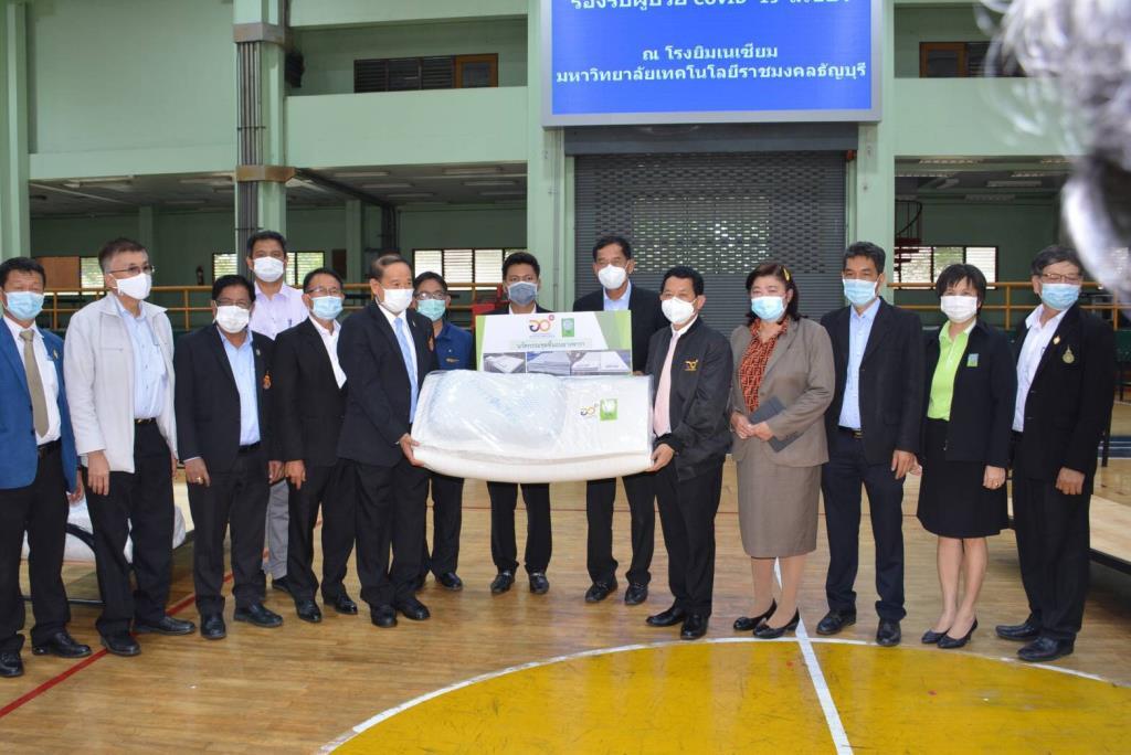 อว. เปิดโรงพยาบาลสนาม มทร. ธัญบุรี รองรับผู้ป่วยโควิด-19