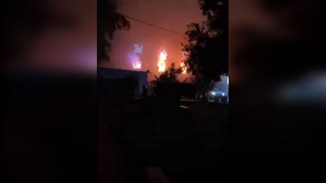 สลด!ถังออกซิเจนระเบิดในรพ.อิรัก ไฟไหม้แผนกไอซียูโควิด ตายอย่างน้อย23ศพ(ชมคลิป)