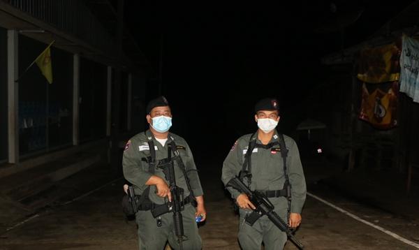 ไทยคุมเข้มชายแดนไทย-เมียนมา หลังมีเหตุปทะกันภายในเมืองพญาซองตู ทหารเมียนมาดับ 2 นาย