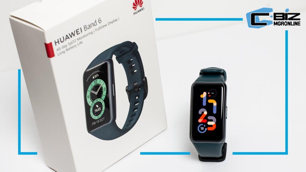 Review : Huawei Band 6 สมาร์ทแบนด์วัดออกซิเจนในเลือด ราคา 1,499 บาท