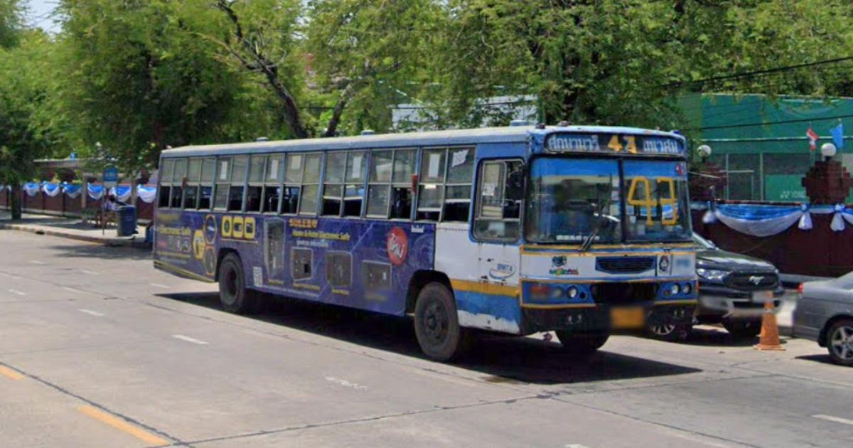 ปิดตำนาน! รถเมล์สาย 43 ศึกษานารี-เทเวศน์ หยุดกิจการสายฟ้าแลบ ผู้โดยสารน้อยแบกต้นทุนไม่ไหว