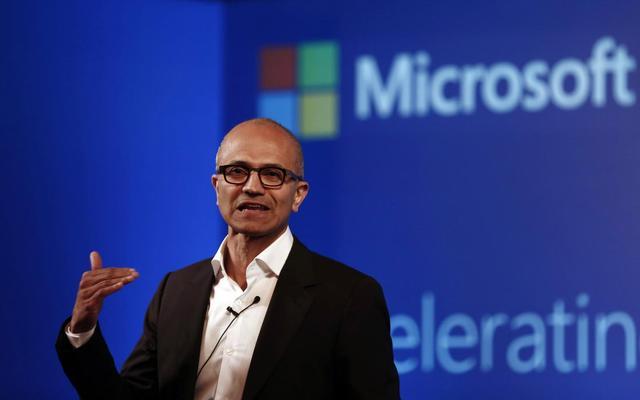 สัตยา นาเดลลา ประธานเจ้าหน้าที่บริหาร Microsoft