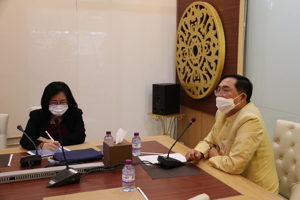 """""""อนุชา"""" ปรับผังรายการ NBT ขยายเวลาช่วยเหลือประชาชนป่วยโควิด-19"""