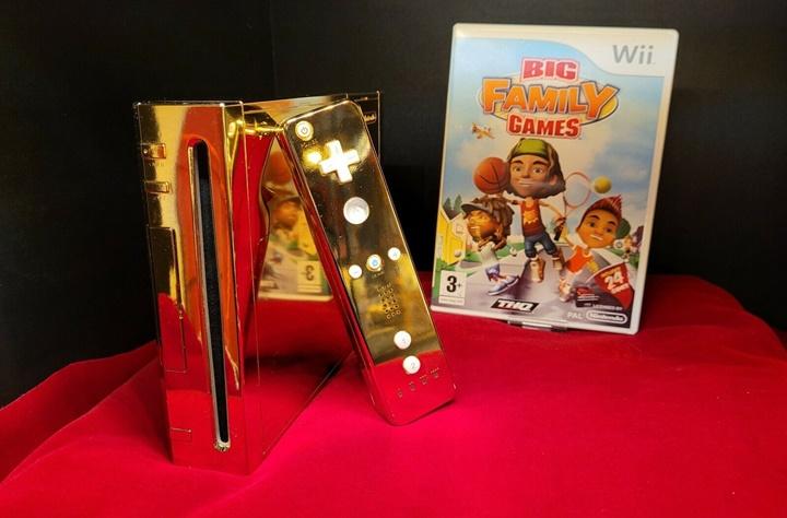 """เปิดประมูลคอนโซลนินเทนโด """"Wii ชุบทอง"""" พร้อมขาย 9 ล้าน"""